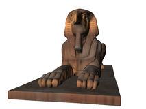 Illustrated Sphinx Royalty Free Stock Photo