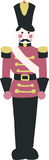 Illustrated Toy Soldier Design Element Royalty Free Stock Photo