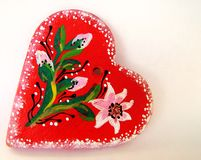 Illustrated valentine heart 1 Royalty Free Stock Images