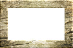 Illustrated Wood Frame. Royalty Free Stock Image