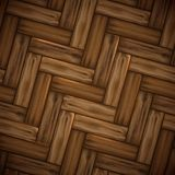 Illustrated wood parquet texture. Stock Images