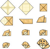 Pingouin d 39 origami photographie stock image 31697572 - Arbre de noel origami ...