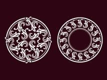 Illustratie 02 van het ornament Stock Afbeeldingen