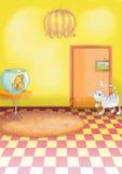 Illustratie 06 van jonge geitjes Stock Foto's