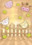 Illustratie 10 van jonge geitjes Royalty-vrije Stock Fotografie