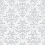 Illustratie met kunstbloem op witte achtergrond Royalty-vrije Stock Afbeelding