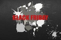 Illustratie op het thema van zwarte vrijdagverkoop royalty-vrije stock foto