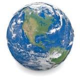 Illustratie van Aarde Stock Afbeeldingen