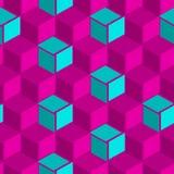Illustratie van abstract naadloos patroon Stock Afbeelding
