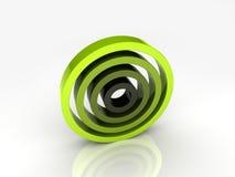 Illustratie van abstracte cirkels Vector Illustratie