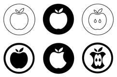 Illustratie van appelen Stock Afbeelding