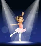 Ballerina stock illustratie