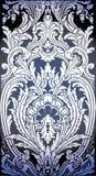 Illustratie van Barok patroon Stock Afbeeldingen