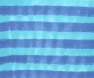 Illustratie van blauwe gestreepte achtergrond royalty-vrije stock afbeelding