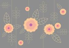 Illustratie van bloempatroon. Royalty-vrije Stock Foto's