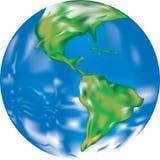 Illustratie van de Aarde stock illustratie