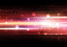 De technologieachtergrond van de wetenschap Royalty-vrije Stock Afbeelding