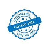 Illustratie van de cafeïne de vrije zegel stock illustratie