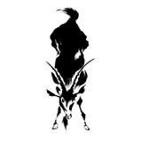 Illustratie van de geit Royalty-vrije Stock Afbeelding