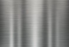 Illustratie van de grijze achtergrond van de metaaltextuur Royalty-vrije Stock Foto's