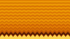Illustratie van de Oranje en Gele Abstracte Achtergrond van het Zigzagpatroon Stock Afbeeldingen