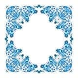 Illustratie van de winterkader van abstract element Royalty-vrije Stock Afbeelding
