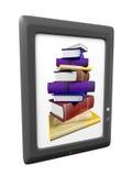 Illustratie van ebook Stock Foto's