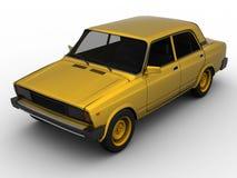 Illustratie van een Auto Stock Afbeelding