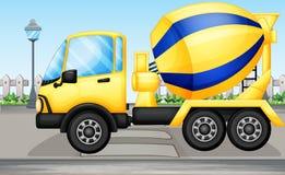 Een cementvrachtwagen Royalty-vrije Stock Foto's