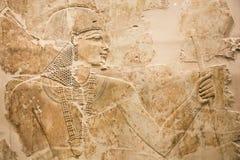 Illustratie van een Egyptische mens Stock Afbeelding