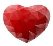 Illustratie van een hart Stock Foto