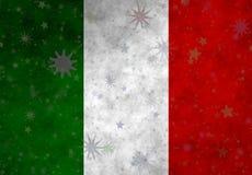 Illustratie van een Italiaanse Vlag stock illustratie