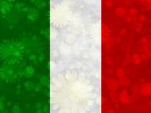 Illustratie van een Italiaanse Vlag vector illustratie