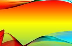 Illustratie van een kleurrijke achtergrond royalty-vrije illustratie