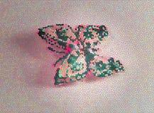Illustratie van een kleurrijke vlinder stock fotografie