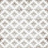 Het antieke Patroon van het Damast Royalty-vrije Stock Afbeelding