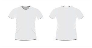 Het malplaatje van de t-shirt Stock Afbeeldingen