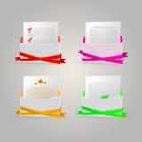 Illustratie van enveloppen Stock Foto