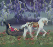 Illustratie van fantasieart. Royalty-vrije Stock Afbeeldingen