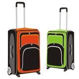 Illustratie van geïsoleerdee bagage Royalty-vrije Stock Fotografie