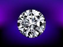 Illustratie van gedetailleerde diamant Royalty-vrije Stock Foto