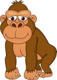 Het beeldverhaal van de gorilla stock illustratie