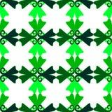 Illustratie van groen latwerkpatroon Royalty-vrije Stock Foto's