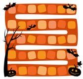 Illustratie van Halloween-raadsspel royalty-vrije illustratie