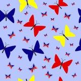 Illustratie van helder naadloos patroon Royalty-vrije Stock Afbeelding