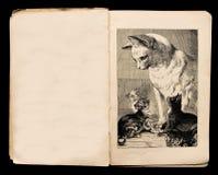 Illustratie van het boek van kinderen Stock Afbeeldingen