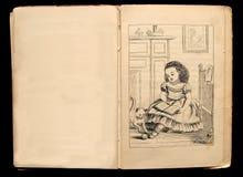 Illustratie van het boek van kinderen Royalty-vrije Stock Foto