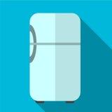 Illustratie van het koelkast de vlakke pictogram royalty-vrije illustratie