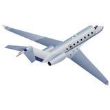 Illustratie van het vliegtuig Stock Afbeelding