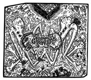 Illustratie van houten gravure wordt gemaakt die een scène van benutting en onrechtvaardigheid afschilderen die Royalty-vrije Stock Foto's